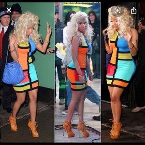 Forever 21 Mod Color Mesh Dress